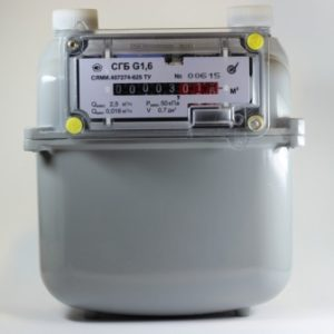 Счетчик газа СГБ G 1,6